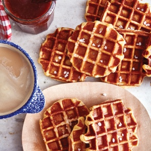 Brown sugar waffles