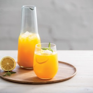 Iced Turmeric, Lemon  & Ginger Tea
