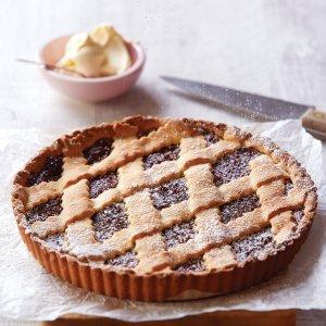 Crostata with Fig &   Raspberry Jam