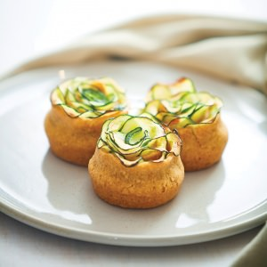 Courgette Tartelettes